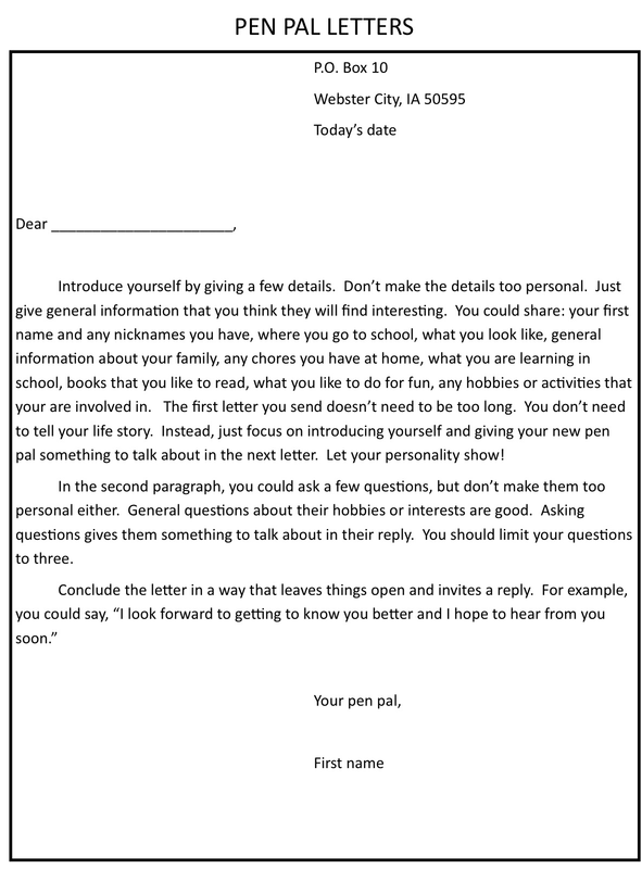 28 Business Letter Format 5th Grade
